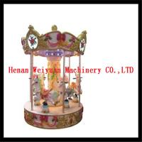 Quality 6 seats musical carousel horse for kids and adults for sale