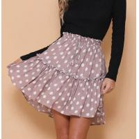 Newest Design Women Polka Dot Mini Skirt