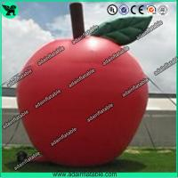 Quality Custom Red Inflatable Products 5M Oxford Inflatable Apple For Advertisement for sale