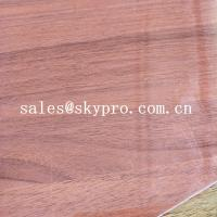 China Waterproof Thin 0.5mm Thickness Polypropylene Clear Red PVC Flexible Plastic Sheet For Cutrain Wall on sale