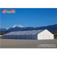 Quality Fire Retardant Big Wedding Marquee Tent For 600 Person With Tables And Chairs for sale