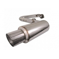 Quality Direct Fit Performance Stainless Steel 409 Universal Exhaust Muffler for sale