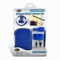 Quality Deluxe 15-in-1 Starter Kit with Game Disc Cases, Suitable for DSI XL for sale