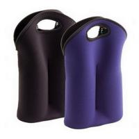 Quality Hot-selling High quality Neoprene Wine holder Water bottle bag two-Bottle holder in different colors for sale