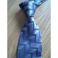 Buy cheap Blue Grid Necktie from wholesalers