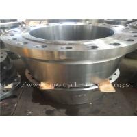 """Quality Carbon Steel Flange  Forgings Q + T Heat Treatment PN250 Class1500 WN RTJDN100  NPS4"""" DN150 NPS6"""" DN300 for sale"""