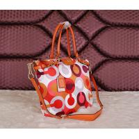 Quality Wholesale original top quality C-O-A-Ch women cloth& leather new colourful fashion handbag for sale