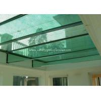 Quality 12mm Tempered Laminated Glass Panels Fire Proof Guard Against Theft for sale