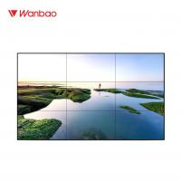 """Quality Indoor LCD Splicing Screen 46"""" TV Lcd Wall Display With Brightness for sale"""