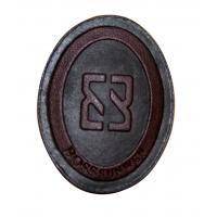 China OEM Design Embossed Leather Patches With Personalized Logo For Jeans on sale