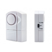Quality 130dB Magnetic Door Window Mini Alarm Chime With Key Button CX88B for sale