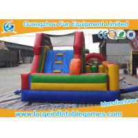 Buy cheap Kid Climb Blow Up Bounce House Slide N Slip Durable Digital / Silk Printing product