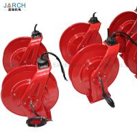 Quality 10~20m DMX Cable Retractable Hose Reel 32A Power Cord Transmit Audio / Light / Video for sale
