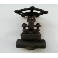 Quality A105 API Forged Steel Gate Valve With SW Threaded Flange End ,150LB - 1500LB for sale
