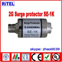 China STB Surge protector SE-1K 5-2500MHz Power pass and DC block available on sale