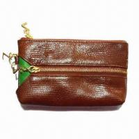 Buy cheap Phone Wallet and Hey Holder, Made of Genuine Leather, 11.5 x 9 x 1cm Closed Size from wholesalers