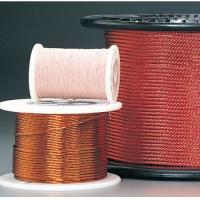 Quality 0.05 - 0.287mm Self Bonding Wire High Frequency Copper Litz Wire Insulated Winding Wire For Transformers for sale