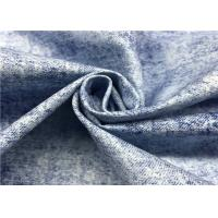 Quality Printing Coated Polyester Fabric , Soft Taslon Stretch 100 Polyester Fabric for sale