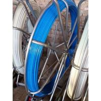 China Contious tracing Fiberglass duct rodder & flexible fiberglass rod (4.5mm~16mm) on sale