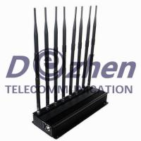 Buy cheap High Power WiFi Gps Signal Jammer Blocker , Lojack Handheld Cell Phone Jammer from wholesalers