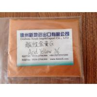 China Acid yellow 36 on sale