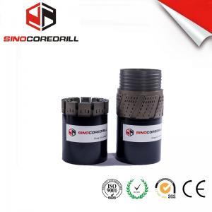 Buy Medium To Hard Formation Impregnated Diamond Core Drill Bit bq nq hq pq at wholesale prices
