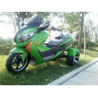 Buy cheap 1000w Electric Moped Bike , 3 Wheel Scooter Motorcycles With Brushless Motor from wholesalers
