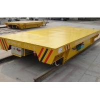 Quality Battery Powered On Rail Transfer Cart Trolley Heavy Duty 10 Ton To 300 Ton for sale