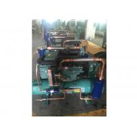 Buy 15HP Copeland Water Cooled Condensing Units , Compressor Refrigeration Unit For Supermarket at wholesale prices