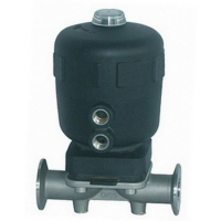 China Clamp Connection EPDM Seal AISI 316L Pneumatic Diaphragm Valve on sale
