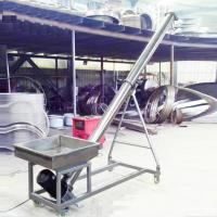 Buy cheap Stainless steel auger feeder / flexible screw conveyor for grain from wholesalers
