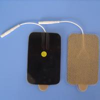 Quality apricot tens ems electrode self-adhesive massage pad for sale
