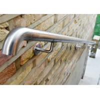 Quality Stable Safe Stainless Steel Wall Mounted Handrail For Construction Building for sale