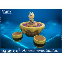 China Kids Amusement Game Machines Indoor Sand Table With Seats Rotational Moulding on sale