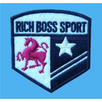 Quality Customized embroidered sports event logo patches,tailored embroidery crests to garments, for sale