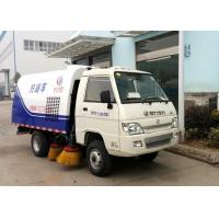 Quality Mini Road Sweeper Truck 2.5CBM Road Cleaning Truck For Sidewalk ISO Certification for sale