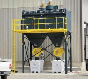 Cartridge Dust Collector (LW/LLSeries)-D001 industrial dust catcher