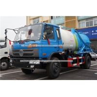 Quality Dongfeng 8cbm 8000Liters Vacuum Sewage Septic Fecal Suction Truck Sewer dredging Truck for sale