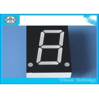 Long Life Span 7 Segment Led Display Multicolor One Digit For Induction Cooker