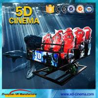 Buy cheap 6 DOF Snow Virtual Reality 5D Cinema Equipment  With Hydraulic / Electric Platform from wholesalers