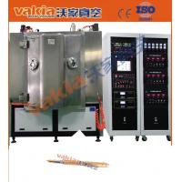 Buy cheap ZrN Gold Magnetron Sputtering Coating Machine For Pen / TiN Plating Machine product