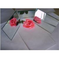 China Black Silver Mirror Glass Sheet 3mm 4mm 5mm 6mm Thickness For Decoration on sale