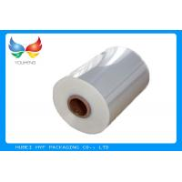 Buy cheap Shrinkable Clear PVC Shrink Wrap Tube Film For Wrapping And Packaging product