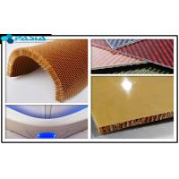 Quality Plain Weave Pattern Kevlar Honeycomb Sheets For Airplane Partition Wall for sale