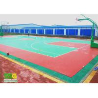 Quality Indoor Sport Court Surface Flooring / Shock Absorbing Flooring Fastest Tennis Court Surface for sale
