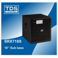 China 18inch Bass Speaker Cabinet (SRX718S) For Professional Subwoofers on sale