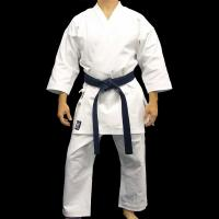 Quality Custom Heavyweight White Karate Uniform Gi in Polyester Cotton for sale