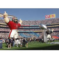 Buy Standing Inflatable Cartoon Characters , Sport Colorful Giant Inflatable Replica at wholesale prices