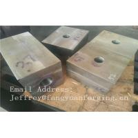 Quality SA182 F316 F304 SForged Steel Products Forgings Block Solution Milled And Drilling for sale
