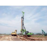 Quality 52m Depth Bored Pile Driving Machine With CAT Chassis Construction Pile Rig KR150C for sale